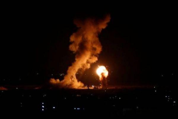 الاحتلال يقصف موقعاً للمقاومة شمالي قطاع غزة