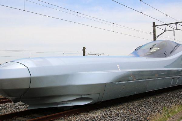 """البدء باختبار أسرع قطار """"طلقة"""" على الإطلاق في اليابان"""