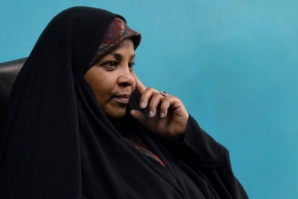 مرضية هاشمي تكشف زيف الديمقراطية الأميركية - ليلى عماشا