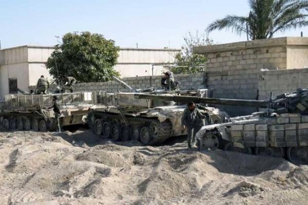 الجيش السوري يحشد قواته اليوم لدخول عفرين والغوطة الشرقية