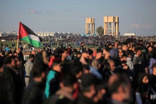 """استشهاد طفل وإصابة 41 مواطنًا في جمعة """"الوفاء لشهداء الإبراهيمي"""""""