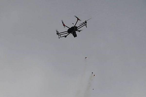 المقاومة تُسقط طائرة تصوير إسرائيلية وسط قطاع غزة