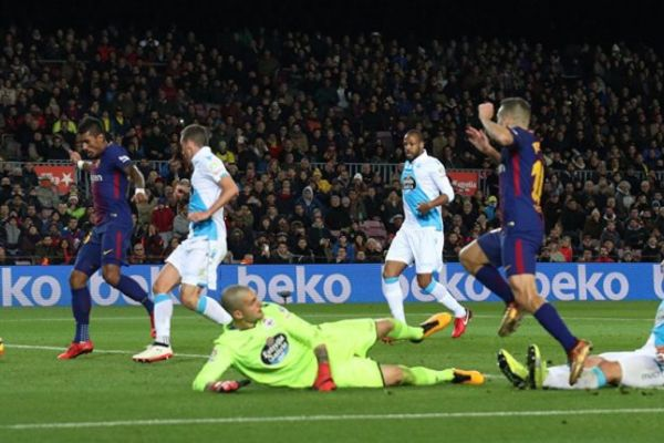 بالفيديو… أهداف مباراة برشلونة وديبورتيفو لاكورونا في الدوري الإسباني 4-0