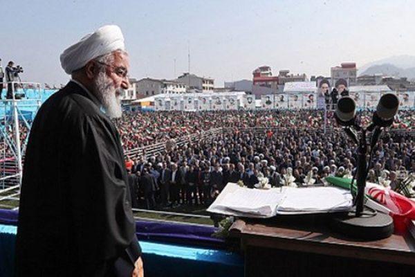 الرئيس روحاني: اميركا فشلت في تحريض العالم ضد ايران في مؤتمر وارسو