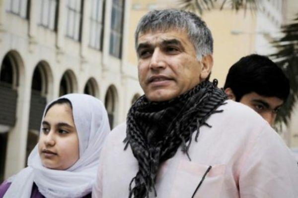 السجن 5 سنوات للناشط البحريني نبيل رجب بسبب تغريدات انتقدت حرب اليمن والتعذيب في سجون البحرين