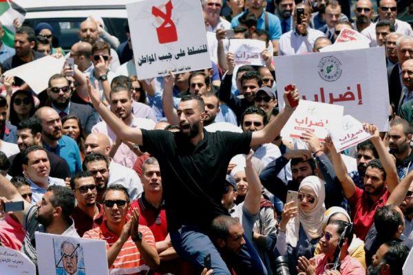 تقرير اسرائيلي : إسرائيل تتابع بقلق الوضع الداخلي في الأردن
