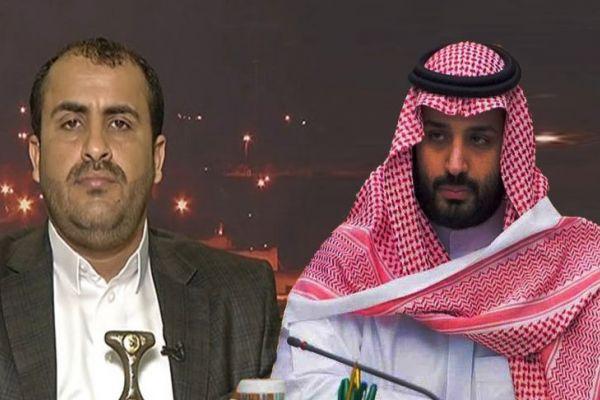 بن سلمان يتحدث عن تواصل الحرب على اليمن، وحركة انصار الله ترد