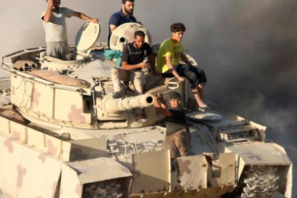معركة الجنوب السوري: الجيش الى الحدود
