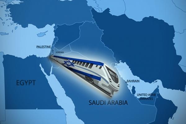 """مشروع خط سكك حديد بين """"إسرائيل"""" والدول العربية سيرى النور من مسقط"""