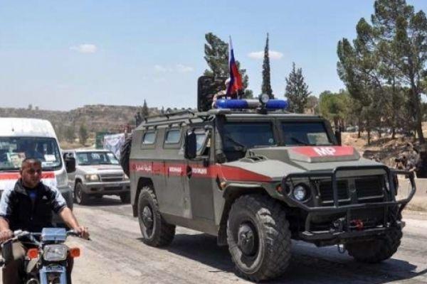 الشرطة الروسية تضع الترتيبات الأخيرة لإجلاء 1000 مسلح وذويهم عن جنوب سوريا