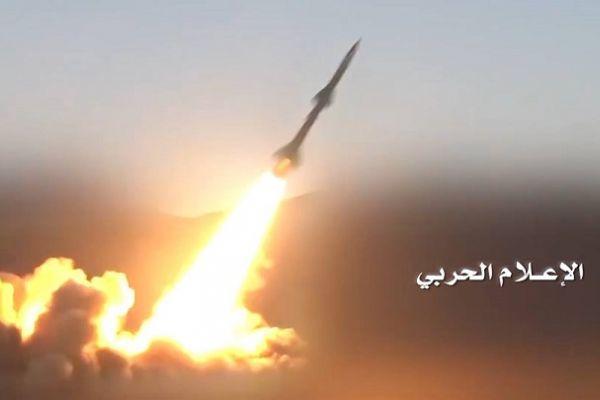 القوة الصاروخية تدك قاعدة الملك فيصل في عسير بصاروخ باليستي
