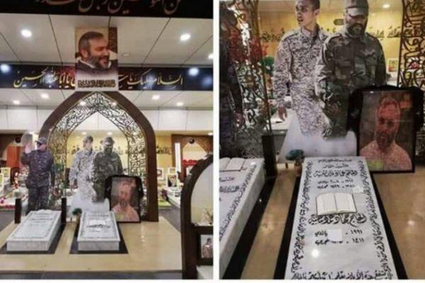 رسالة على ضريح عماد مغنية تثير ضجة.. من مجهول !