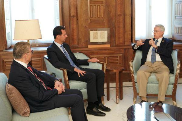 الرئيس الأسد: انتهاج سياسات التهديد وفرض العقوبات ودعم الإرهاب هي السمات الأساسية للدور الأمريكي