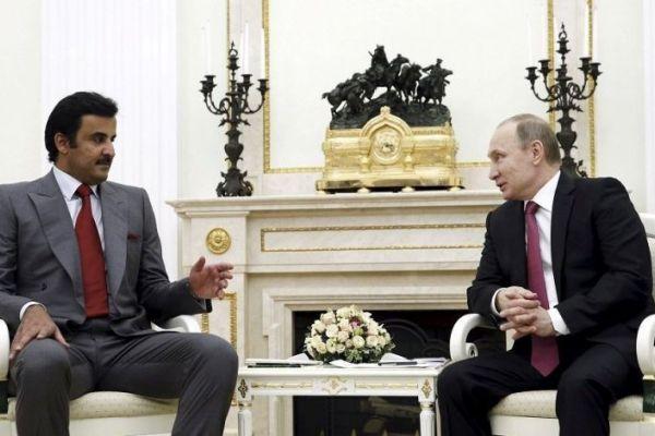 مباحثات بين الرئيس الروسي وأمير قطر في موسكو الأسبوع المقبل